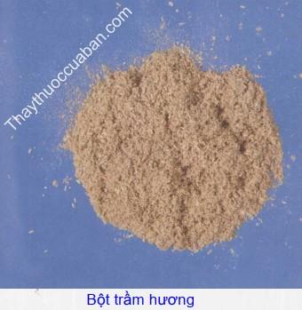 Hình ảnh bột trầm hương